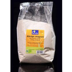 Αλεύρι ολικής αλέσεως από μαλακό σιτάρι ΒΙΟ 1kg