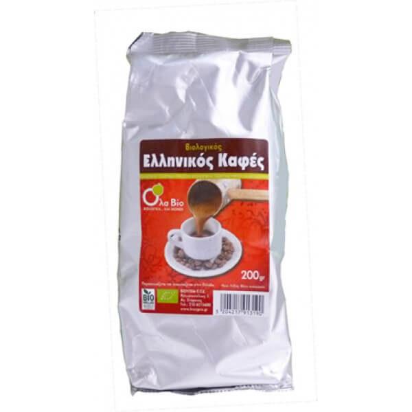 Ελληνικός καφές ΒΙΟ 200gr