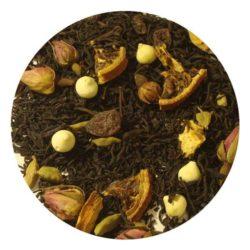 Μαύρο τσάι χιονισμένο έλατο